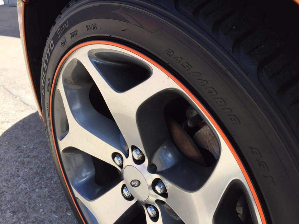 Wheel rim protection